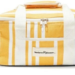 Business & Pleasure Cooler Yellow Striped